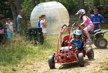 Detské motoristické atrakcie