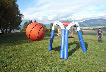 Mega basketball