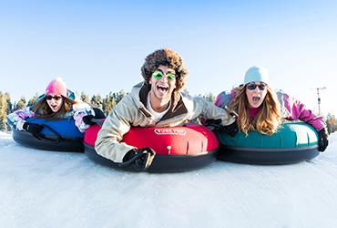 Snowtubing (zábava na snehu)