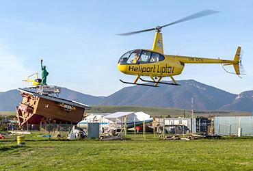 Vrtulník (výhliadkový let)
